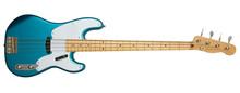 Blue Bass Guitar