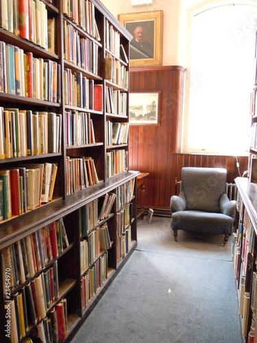 Poster Bibliotheque Bibliothèque, Linen Hall, Belfast