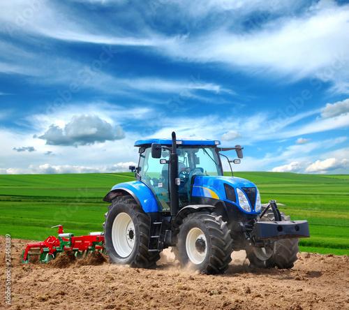 Fototapeta tractor obraz