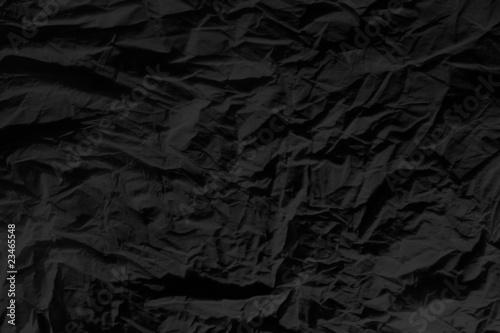 fondo papel negro arrugado