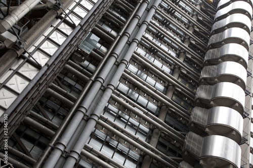 Lloyds of London Insurance Building in London, UK Wallpaper Mural