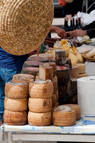 Fotobehang Zuivelproducten Market