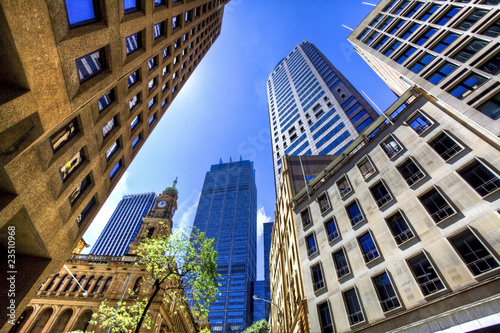 Canvas Print sydney city centre