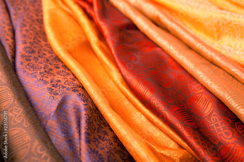 Foto op Aluminium Stof Indian scarves