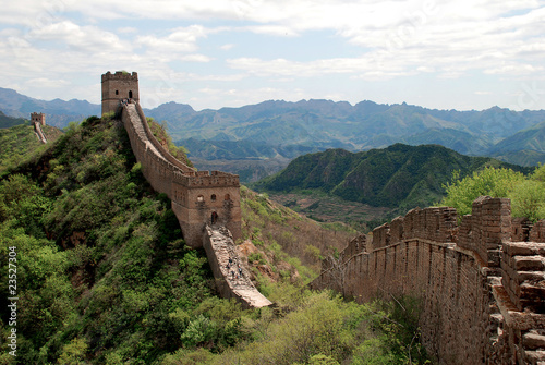 Photo sur Toile Muraille de Chine Great wall in Simatai