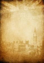 Grunge Vintage Background. Lon...