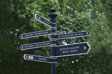 London City Road Sign