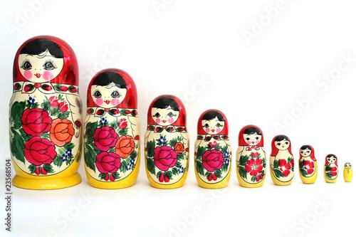 babushka dolls Canvas Print
