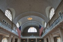 Ellis Island - Registry Room (or Great Hall)