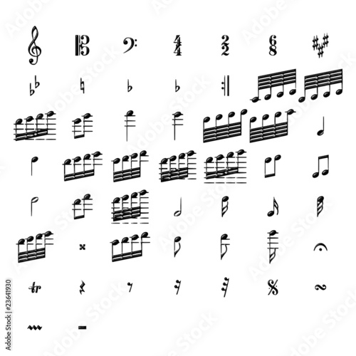 music Canvas-taulu