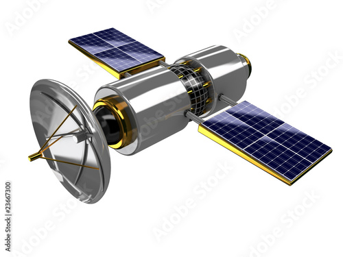 Fotografía  broadcasting satellite