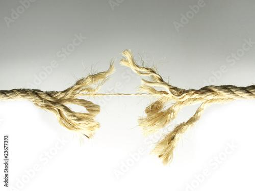 Fotografía  Cuerda estirada