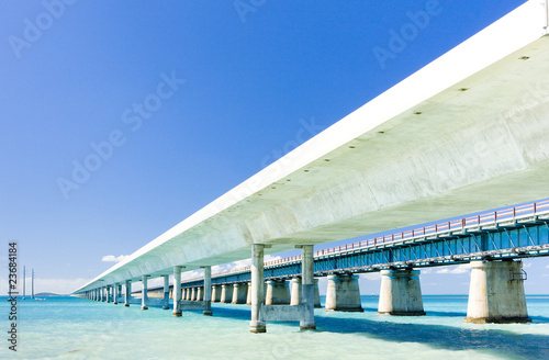 road bridges connecting Florida Keys, Florida, USA