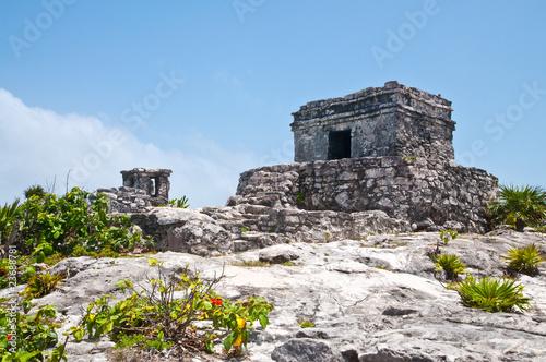 Deurstickers Rudnes antikes Haus