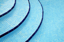 Steps In Swimming Pool