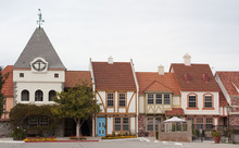 Typical Danish Style Houses In Solvang