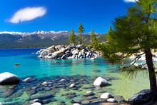 Sand Harbor Beach, Lake Tahoe ...