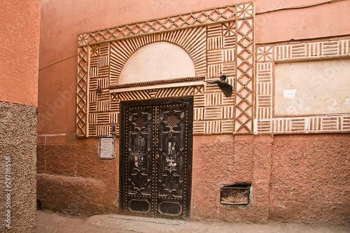 Poster Maroc Medina di Marrakech