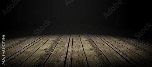 Fotomural suelo de madera