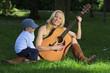 canvas print picture - Medi-Gitarre-03