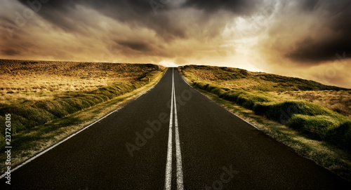 canvas print motiv - Kwest : The Road is Long