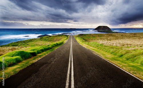canvas print motiv - Kwest : Coastal Highway