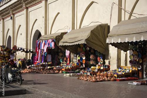 Foto op Plexiglas Marokko negozi souvenir