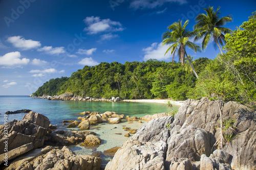 Fotografía  strand auf pulau perhentian, malaysia