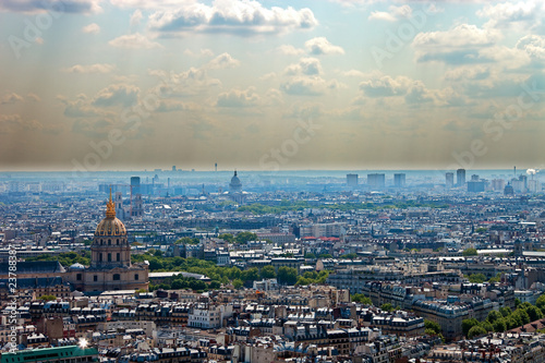 Papiers peints Paris Smog
