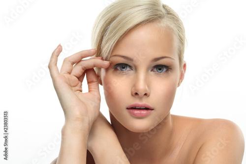 Fotografie, Tablou  Beautiful blonde girl