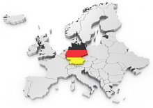 Germany On A Euro Map