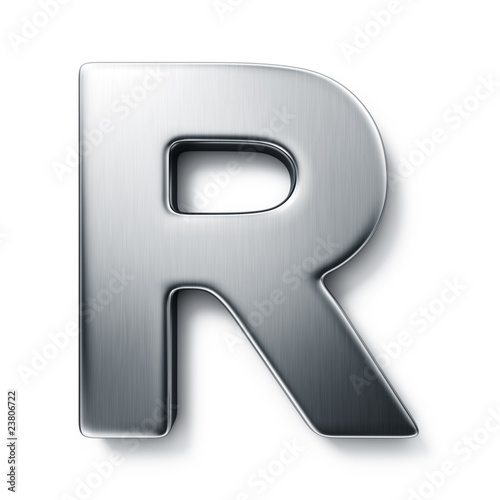 Photo  The letter R