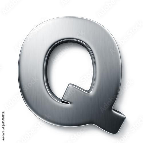 Photo  The letter Q