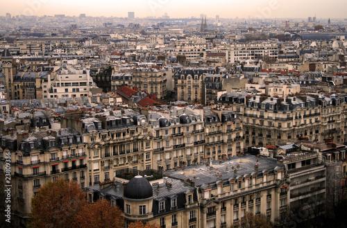 Papiers peints Paris Paris roofs