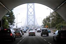 Crossing The Bay Bridge During Rush Hour
