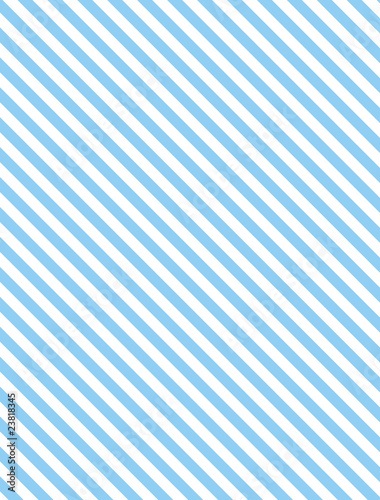 Fotografie, Obraz  Vector EPS8 Diagonal Striped Background in Blue
