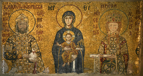 Photo  Mosaic Saint sophie