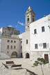 Muraglia with Annunziata Belltower Church. Bari. Apulia.