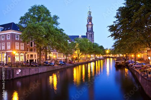 amsterdam, westerkerk Poster