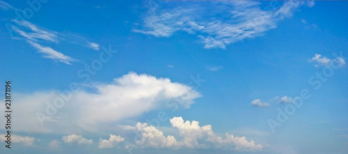 Fotografie, Obraz  голубое небо с облаками