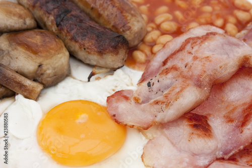 Photo english friend breakfast
