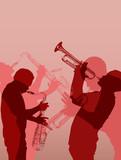 muzyk jazzowy z mosiądzu - 23885744