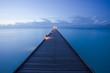 canvas print picture - Runway of dreams - Steg zum Träumen