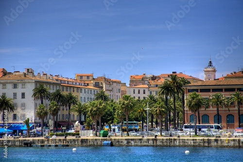 Foto auf Gartenposter Stadt am Wasser Ajaccio, Corsica