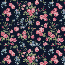 Classic Rose Seamless Wallpaper
