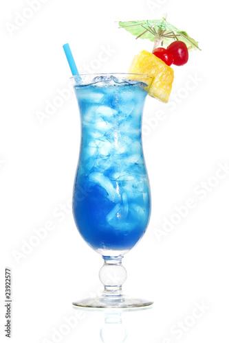 Niebieski hawajski