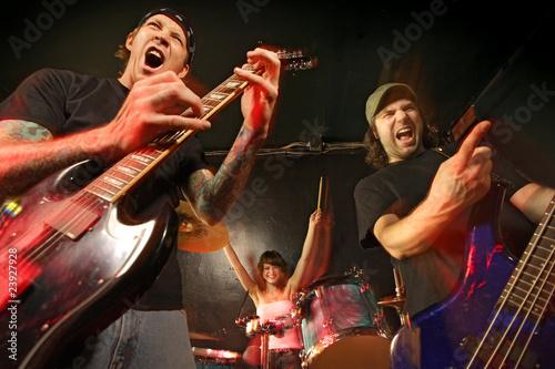 Fotografía  Rock band concert