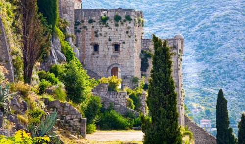 Photo  Klis - Medieval fortress in Croatia