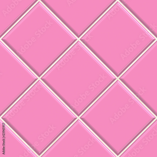 Seamless Pink Tiles Texture Background Kitchen Or Bathroom Conc