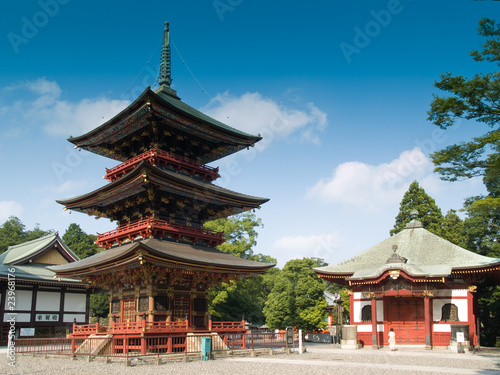 Plakat Japanese Temple
